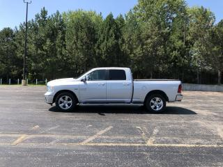 Used 2015 RAM 1500 SLT CREW CAB 4X4 for sale in Cayuga, ON
