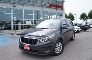 Used 2016 Kia Sedona LX for sale in Pickering, ON