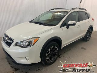Used 2015 Subaru XV Crosstrek Limited AWD Cuir Toit ouvrant GPS Bluetooth for sale in Trois-Rivières, QC