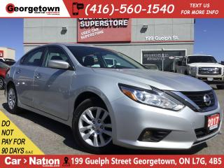 Used 2017 Nissan Altima 2.5 SV | PUSH START | FOGS | POWER GRP | BLUTOOTH for sale in Georgetown, ON