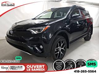 Used 2018 Toyota RAV4 SE* HYBRIDE* AWD* GPS* CAMERA* TOIT OUVRANT* for sale in Québec, QC