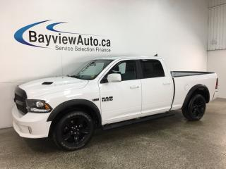 Used 2018 RAM 1500 Sport - FULL LTHR! NAV! SUNROOF! BLACK 20
