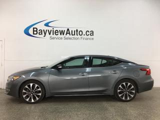 Used 2018 Nissan Maxima SR - HTD/COOLED 1/2 LTHR! ADAPTIVE CRUISE! REMOTE START! ALLOYS! + MORE! for sale in Belleville, ON