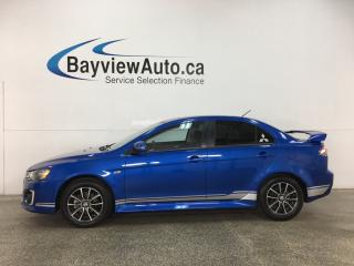 Used 2017 Mitsubishi Lancer SE LTD - AWD! SUNROOF! HTD SEATS! ALLOYS! for sale in Belleville, ON