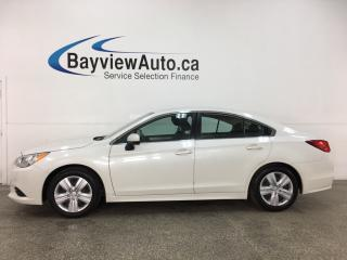 Used 2017 Subaru Legacy 2.5i - AWD! HEATED SEATS! BLUETOOTH! FULL PWR GROUP! for sale in Belleville, ON