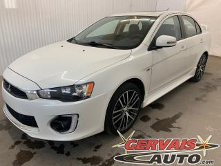 Used 2017 Mitsubishi Lancer GTS 2.4 Mags Caméra de recul Toit ouvrant Bluetooth for sale in Trois-Rivières, QC