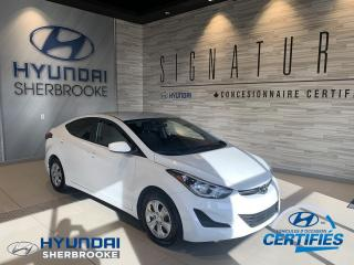 Used 2016 Hyundai Elantra L PLUS+AUTO+DEMARREUR+AIR CLIMATISE for sale in Sherbrooke, QC