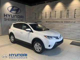Used 2015 Toyota RAV4 LE COMMODITÉ+AWD+CAMERA+BANCS CHAUFF for sale in Sherbrooke, QC