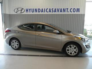 Used 2015 Hyundai Elantra Berline 4 portes, boîte automatique, GL for sale in St-Hyacinthe, QC