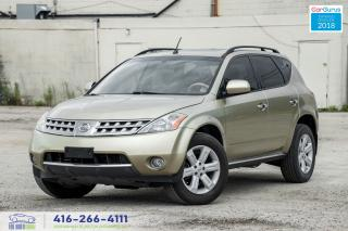 Used 2006 Nissan Murano CLEANCARFAX SUNROOF REAR CAM AUTOSTART CERTIFIED for sale in Bolton, ON
