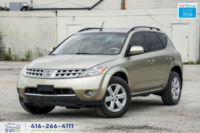 2006 Nissan Murano CLEANCARFAX SUNROOF REAR CAM AUTOSTART CERTIFIED