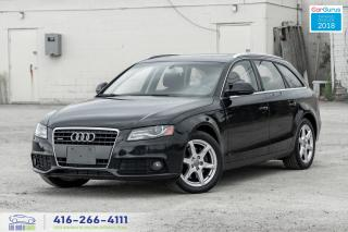 Used 2009 Audi A4 Avant AWD PanoRoof 1 Owner Clean Carfax Certified for sale in Bolton, ON