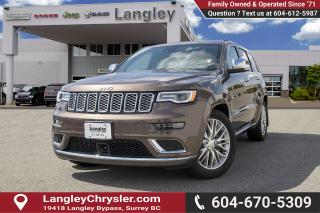 Used 2018 Jeep Grand Cherokee Summit - Leather Seats for sale in Surrey, BC