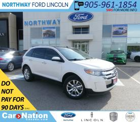 Used 2011 Ford Edge SEL | HTD LEATHER | PANOROOF | TOUCHSCREEN| MINT! for sale in Brantford, ON