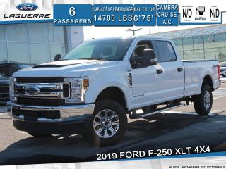 Used 2019 Ford F-250 XLT**6 PLACES*CAMERA*BLUETOOTH*GR. ELECTRIQUE** for sale in Victoriaville, QC