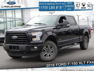 Used 2016 Ford F-150 XLT FX4**GPS*CAMERA*BLUETOOTH*CRUISE*A/C** for sale in Victoriaville, QC