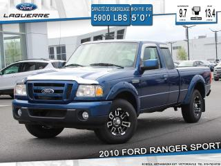 Used 2010 Ford Ranger SPORT**CRUISE A/C** for sale in Victoriaville, QC