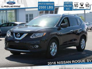 Used 2016 Nissan Rogue SV**CAMERA*BLUETOOTH*CRUISE*A/C** for sale in Victoriaville, QC