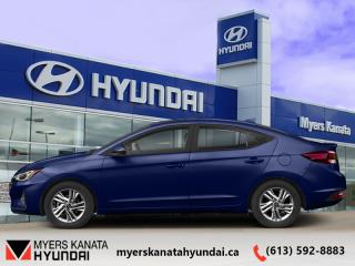 Used 2020 Hyundai Elantra Preferred IVT  - $130 B/W for sale in Kanata, ON