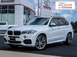 Used 2016 BMW X5 xDrive35d|NAVI|CAMERA|LEATHER|LOADED for sale in Ancaster, ON