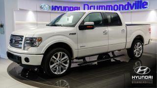 Used 2014 Ford F-150 LIMITED 3.5L + GARANTIE + SUPERCREW + NA for sale in Drummondville, QC