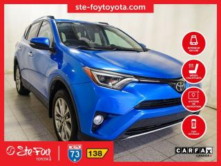 Used 2016 Toyota RAV4 Limited AWD Cuir, Navigation for sale in Québec, QC