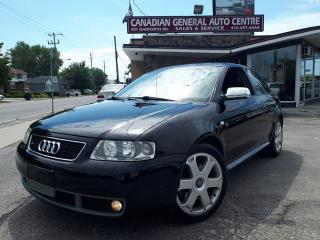 Used 2002 Audi S3 Euro Spec for sale in Scarborough, ON