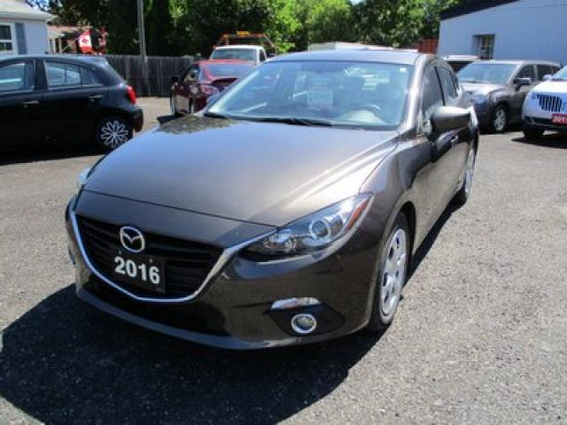 2016 Mazda MAZDA3 GAS SAVING MAZDA3 MODEL 5 PASSENGER 2.0L - 4CYL.. 6 SPEED MANUAL.. NAVIGATION.. BLUETOOTH.. BACK-UP CAMERA.. SKYACTIV TECHNOLOGY..