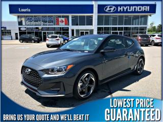 Used 2020 Hyundai Veloster Turbo manual for sale in Port Hope, ON