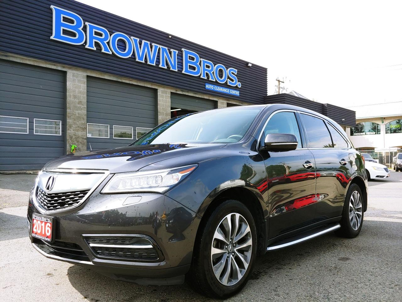 Mdx Cash Back >> 2016 Acura Mdx Brown Bros Auto Clearance Centre