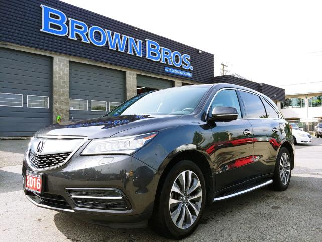 2016 Acura MDX Nav, Moonroof, Leather, LOADED