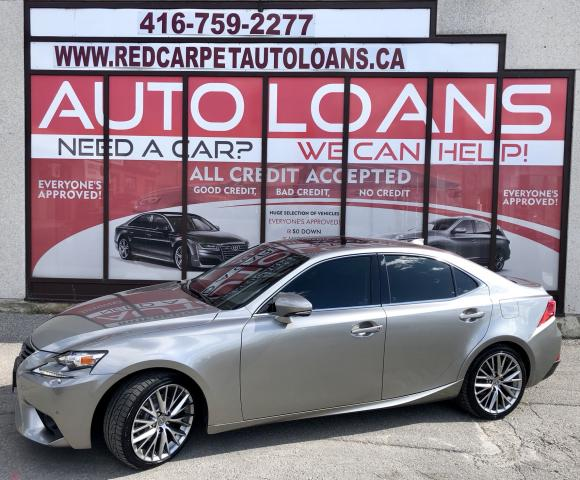 2015 Lexus IS 250 IS 250-ALL CREDIT ACCEPTED