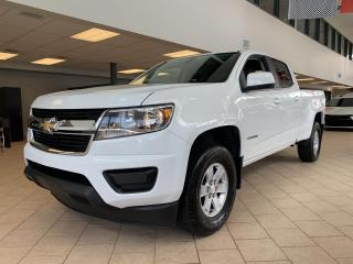 Used 2017 Chevrolet Colorado 4X4 WT V6 Crew Cab for sale in Pointe-Aux-Trembles, QC