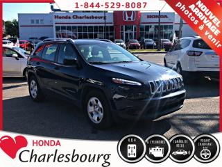 Used 2015 Jeep Cherokee SPORT V6 AWD **SIÈGES+VOLANT CHAUFFANT** for sale in Charlesbourg, QC