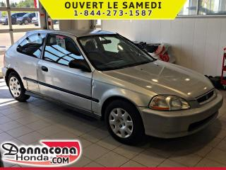 Used 1998 Honda Civic *ROULE COMME UN CHARME* AUTOMATIQUE* for sale in Donnacona, QC