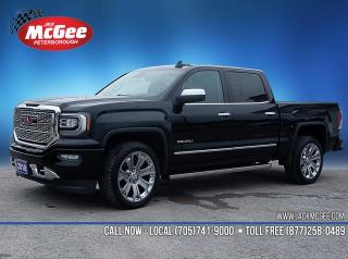 Used 2018 GMC Sierra 1500 Denali 6.2L, Crew, 4x4, Ultimate Pkg for sale in Peterborough, ON