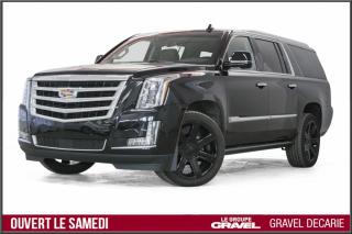 Used 2017 Cadillac Escalade ESV PREMIUM  4RM 7PASS for sale in Montréal, QC