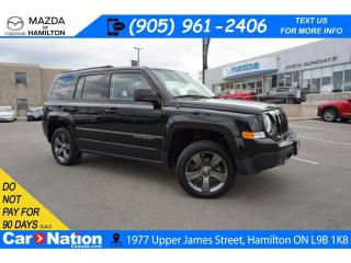 Used 2015 Jeep Patriot Sport/North HIGH ALTITUDE | LEATHER | SUNROOF | NAV | 4X4 for sale in Hamilton, ON