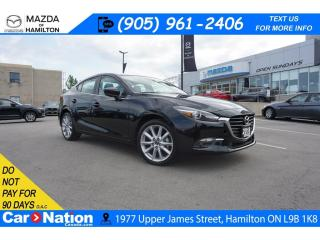 Used 2018 Mazda MAZDA3 GT | SUNROOF | REAR CAM | 6 SPEED for sale in Hamilton, ON