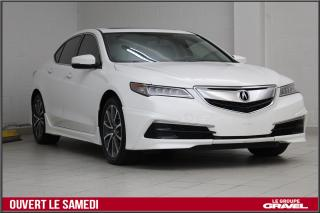 Used 2015 Acura TLX AWD KIT AERO PREMIUM CERTIFIÉ TOIT CUIR TAUX 0.90% for sale in Montréal, QC