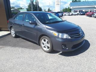 Used 2013 Toyota Corolla Berline 4 portes, boîte manuelle, CE for sale in St-Félicien, QC