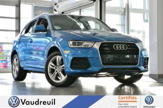 Used 2016 Audi Q3 2.0T Progressiv quattro  * TOIT * MAGS 1 for sale in Vaudreuil-Dorion, QC