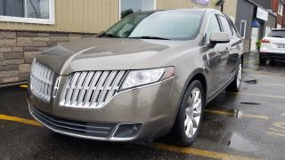 Used 2012 Lincoln MKT AWD-NAVIGATION-SUNROOF-REAR BUCKETS WITH COOLER for sale in Tilbury, ON