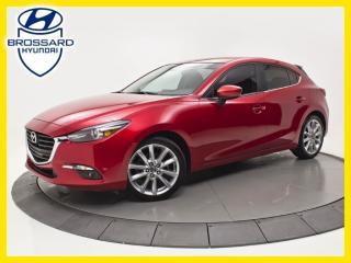 Used 2017 Mazda MAZDA3 Sport GT, NAV, TOIT OUVRANT, CAM DE RECUL for sale in Brossard, QC