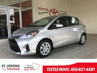 Used 2017 Toyota Yaris * LE * SEULEMENT 5131 KM * * AIR * for sale in Mirabel, QC