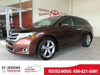 Used 2015 Toyota Venza * LIMITED * CUIR * GPS * TOIT * JBL * for sale in Mirabel, QC
