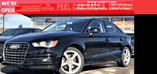 Used 2016 Audi A3 1.8T S tronic|HEATED MIRRORS|HEATED LEATHER SEATS|SUNROOF|VIDEO.CALL.US| SUNROOF|NAVI|BLUETOOTH| for sale in Mississauga, ON