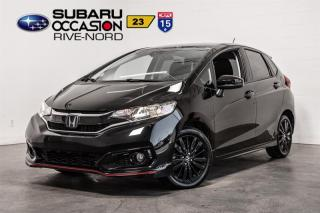 Used 2018 Honda Fit SPORT BLUETOOTH+CAM DE RECUL+A/C for sale in Boisbriand, QC