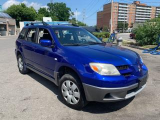 Used 2006 Mitsubishi Outlander LS for sale in York, ON
