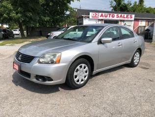 Used 2009 Mitsubishi Galant Comes Certified/Automatic/4 Cylinder for sale in Scarborough, ON